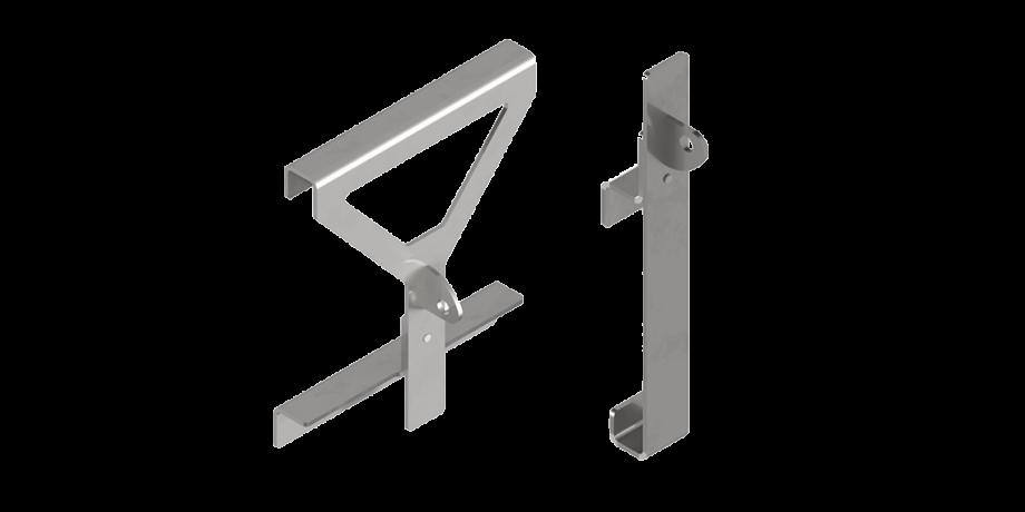 Dispositivo di ancoraggio per scale