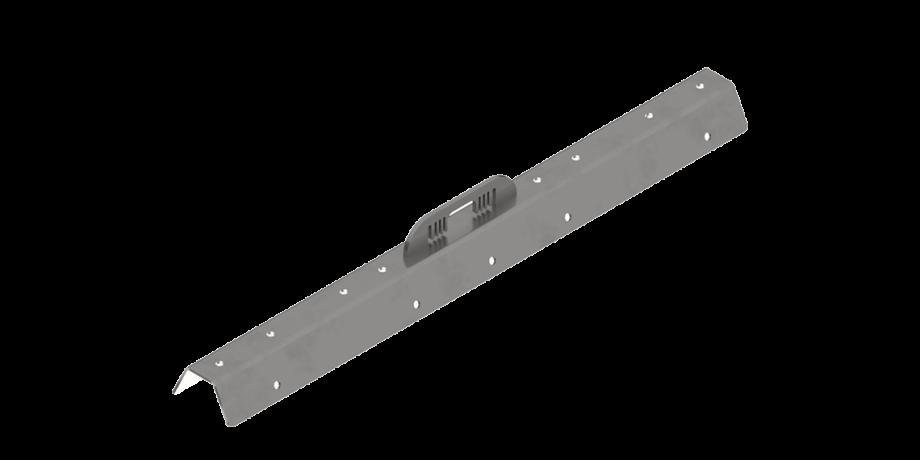 Punto di ancoraggio in acciaio inox per lamiera