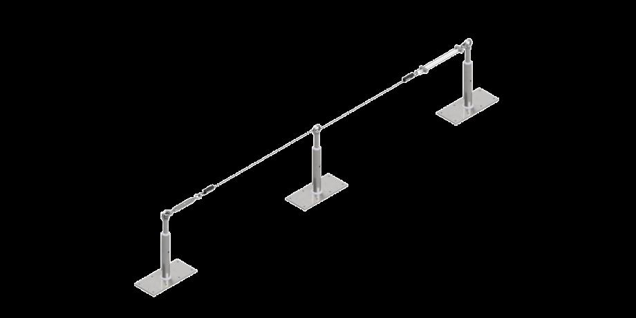 Palo metallico indeformabile - Tipo C